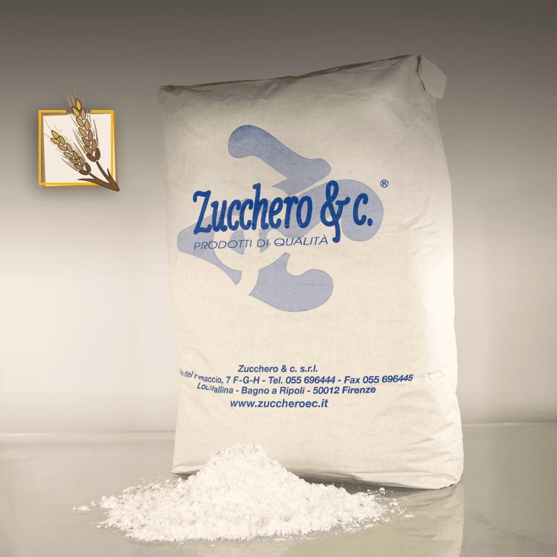 Zucchero a velo con amido di frumento al 3 in sacco da 10kg ns cod ISA310