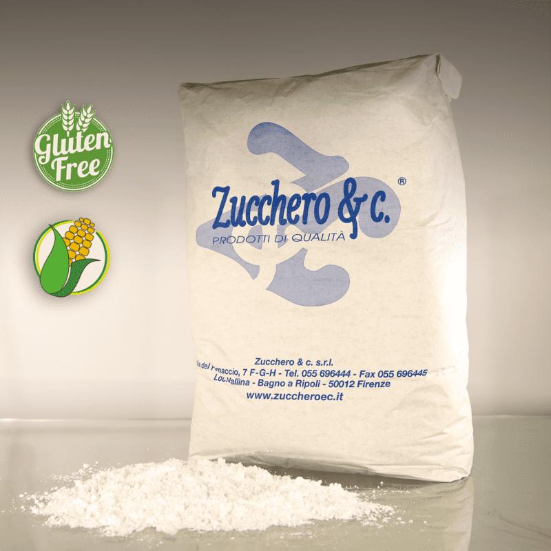 Zucchero a velo con amido di mais al 1 in sacchi da 20kg ns cod ISA120M