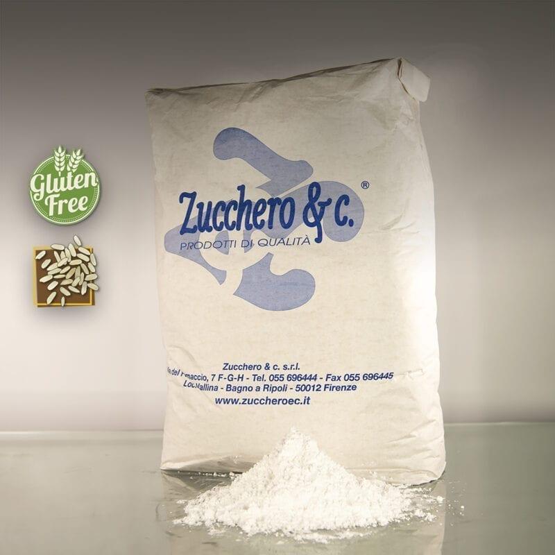 Zucchero a velo con amido di riso al 3% ns cod ISA220R