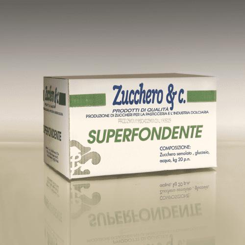 Zucchero fondente in scatola da 10kg ns cod FONDC